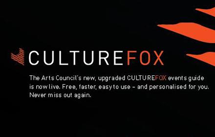 Fógraí faoi chláir & imeachtaí - Culturefox.ie ads