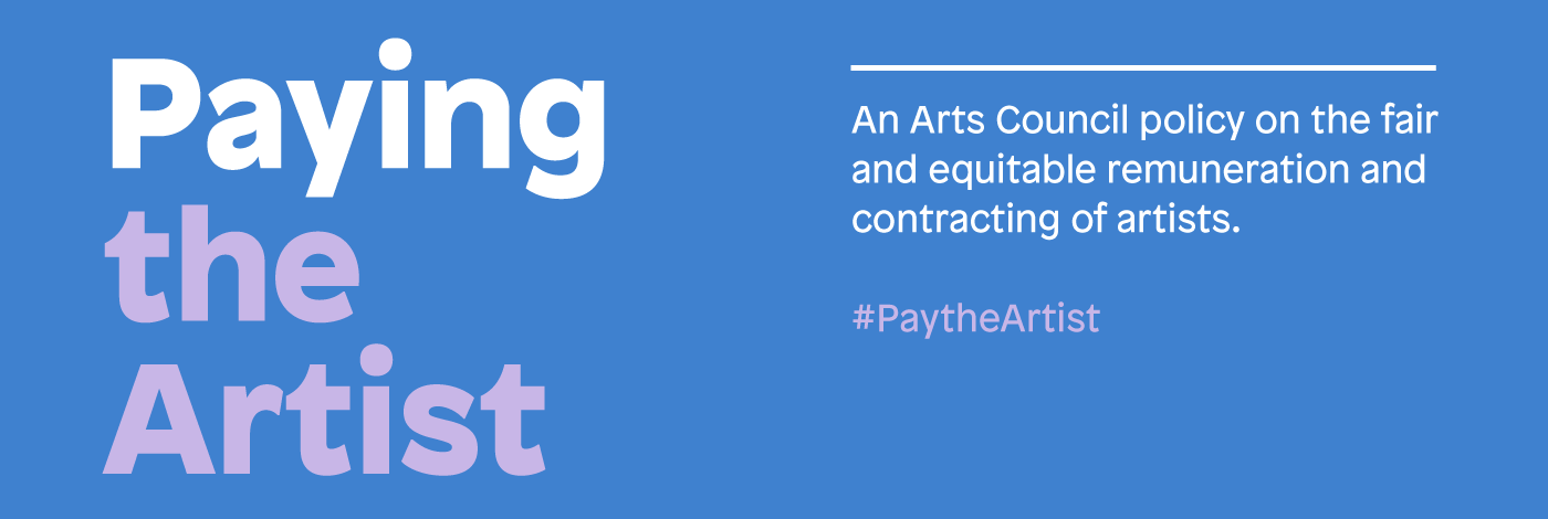 Pay The Artist banner