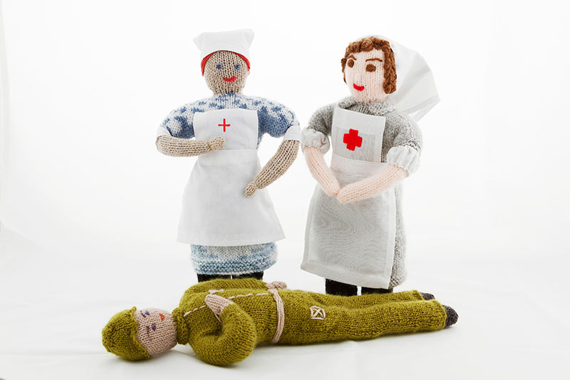 Nurses and Soldier 3